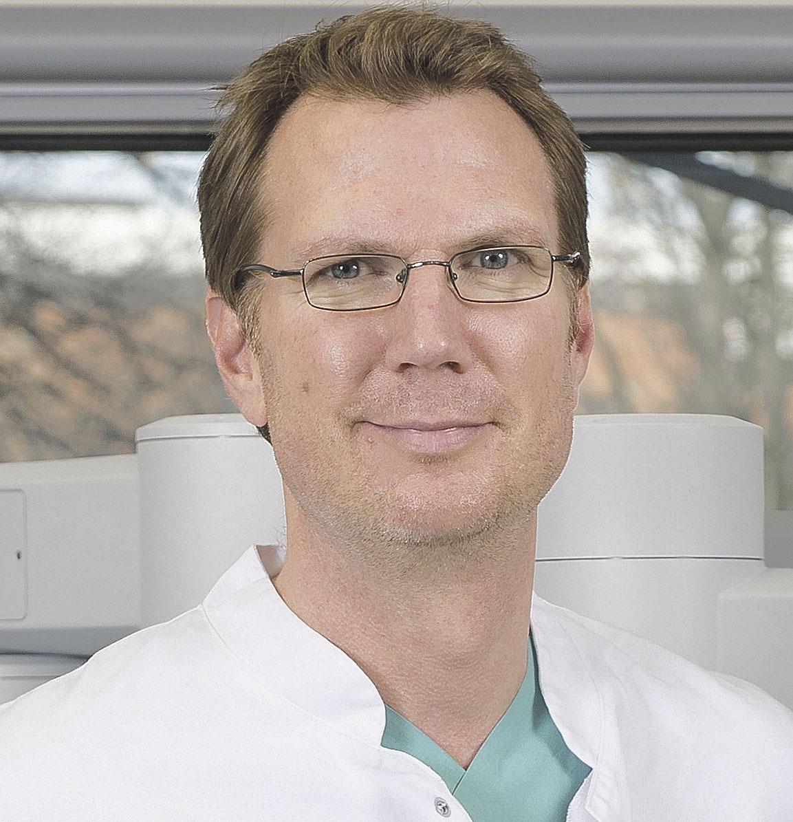 Professor Dr. Thomas Steuber, Leitender Arzt der Martini-Klinik, Prostatakrebszentrum des Universitätsklinikums Hamburg-Eppendorf