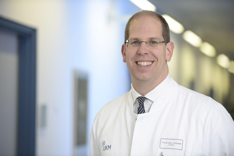 Univ.-Prof. Dr. med. Andres Jan Schrader, Direktor an der Klinik für Urologie und Kinderurologie des Universitätsklinikums Münster